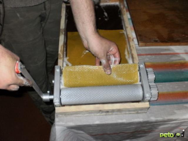Изготовления вощины своими руками фото