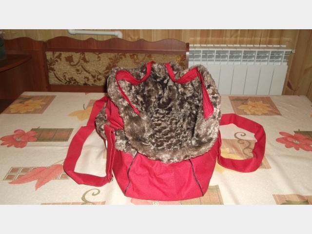 Продаю: Комбинезон весна-осень, переноска пластик, сумка фото2