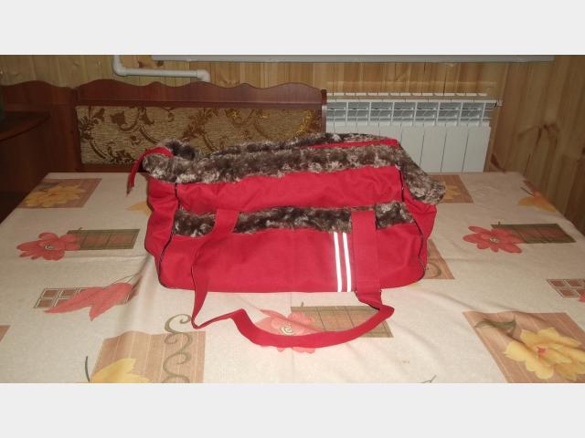 Продаю: Комбинезон весна-осень, переноска пластик, сумка фото3
