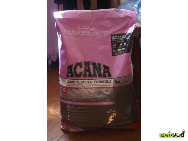 Продаю: Сухие корма Acana