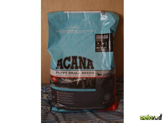 Продаю: Сухие корма Acana фото2