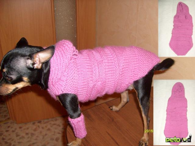 Продаю: Вязанная одежда для собак